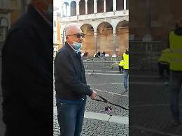 Ultimo sopralluogo del prefetto Gagliardi in piazza del Comune