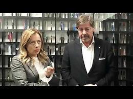 VIDEO Giorgia Meloni alla Ancorotti Cosmetics: 'Plastic tax? La pagheranno i cittadini'