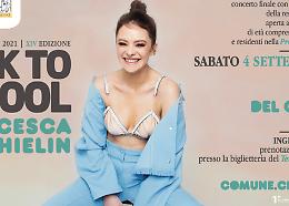Back to School: conto alla rovescia per il concerto con Francesca Michielin