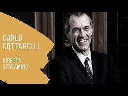 """LIVE Cottarelli presenta """"All'inferno e ritorno"""""""