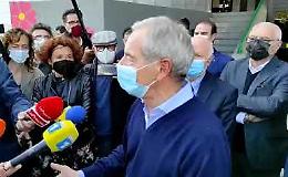 """VIDEO Bertolaso: """"A Crema grande spirito di abnegazione"""""""