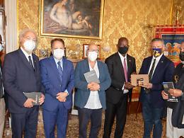 Comunicato Stampa: CRV - Ricevuto dal presidente Ciambetti l'ambasciatore del Mali in Italia Aly Coulibaly