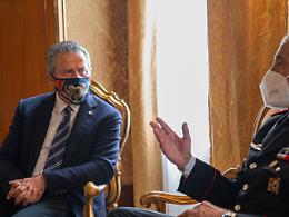 Comunicato Stampa: CRV - Presidente Ciambetti ha ricevuto a palazzo Ferro Fini il generale di brigata Giuseppe Spina
