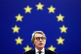 Sassoli, deluso da risposta Ue su rifugiati da Afghanistan