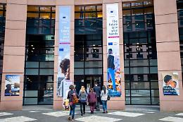Panel dei cittadini al secondo giorno di lavoro a Strasburgo