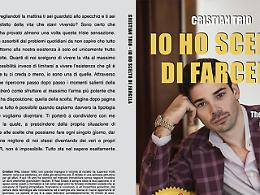 """Comunicato Stampa: Cristian Trio lancia """"Io ho scelto di facela"""": subito Bestseller"""