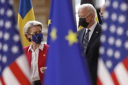 Vertice Usa-Ue rilancia cooperazione, tacito monito a Cina