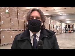 VIDEO Foroni: alle province altri  3,6 milioni di mascherine