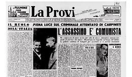 Il criminale attentato di Carpineti: l'assassino è comunista