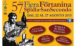 Dal 22 al 27 agosto la Fiera della Fortanina e della spalla di San Secondo