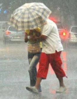 Allerta meteo, rischio di forti precipitazioni
