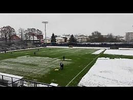 VIDEO Pergolettese-Juventus U23: neve in campo, inizio posticipato