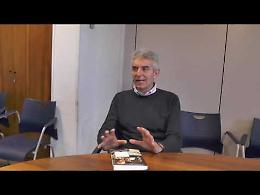 VIDEO Pierdante Piccioni presenta il suo nuovo libro 'Pronto soccorso — Storie di un medico empatico