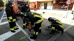 Perdita di gas in via Piacenza, vigili del fuoco e addetti comunali in azione