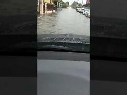 VIDEO Strade allagate a Bagnolo Cremasco