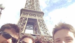 Ultima tappa: ecco la Tour Eiffel