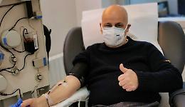 Il super donatore di plasma: «Già 12 prelievi, punto a 14»