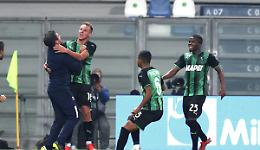 Okereke illude il Venezia, poi il Sassuolo vince 3-1