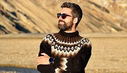 Un influencer cremonese in Islanda: Pagani prof a Reykjavik