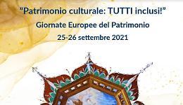 Comunicato Stampa: CRV - 25-26 Settembre giornate europee del patrimonio 2021