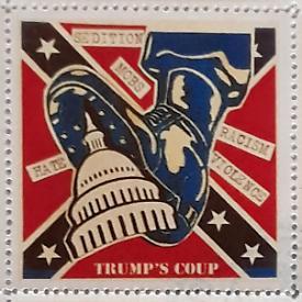 Mail Art a stelle e strisce: cartoline, timbri e francobolli