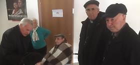 Le foto della visita del vescovo di Cremona a Camerino e San Severino Marche