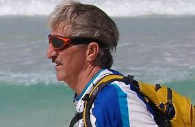 La sfida del cremasco Orini, 150 chilometri di sabbia e rocce