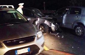 Incidente sul ponte del Po, sette feriti