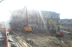 Edificio da abbattere, lavori al via