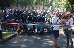 Vespa tour, in 500 al raduno nazionale