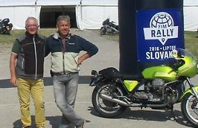 Da Crema alla Svezia, al rally Fim con la moto anni Settanta