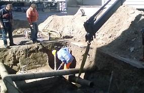 Acquedotto, lavori di riparazione in emergenza