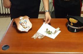 Controllo dei carabinieri, sequestrata marijuana