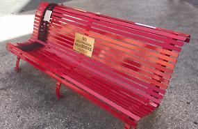 Una panchina rossa per Jessica