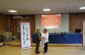 Studentessa del Pacioli canta in cinese e vince il concorso