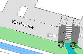Quartiere Baslenga a misura di ciclisti