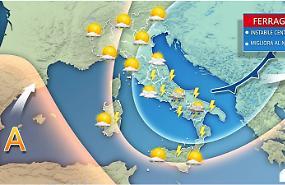 Burrasca di Ferragosto, temporali da Nord a Sud