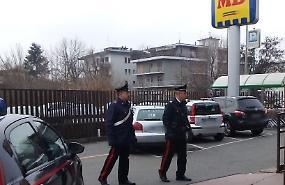 Rapina al supermercato MD, arrestato uno straniero