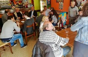 #Uncaffècon il candidato sindaco Vappina a Quattrocase
