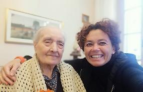 Compleanno da record per Maria, 105 anni