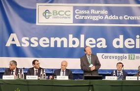 Bcc di Caravaggio, aumentano i soci e la raccolta