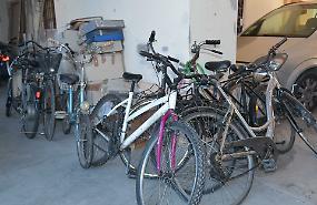 Al comando della polizia locale sette bici smarrite