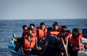 Migranti in calo del 40 per cento