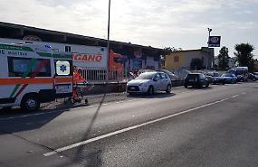 Nuovo tamponamento in via Repubblica, feriti