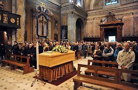 FOTO Il funerale di Ivan Severgnini