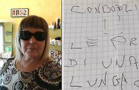 Lettere minatorie, Annamaria Carniti vittima di uno stalker