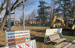 Il sindaco: 'Presto i nuovi giardini pubblici'