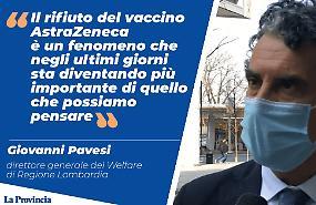 Vaccini: Lombardia, rifiuto AstraZeneca diventa importante