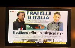 VIDEO La copertina del quotidiano La Provincia di Cremona e Crema a Sky Tg24