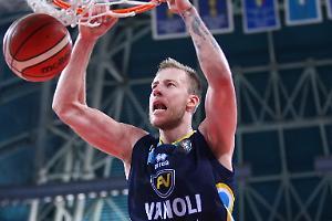 Wojciechowski saluta la Vanoli